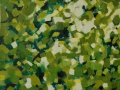 02. Leaves. Oil paint on canvas, 62,5x90cm, 2012