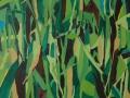 07. Pretty green. Oil paint on canvas, 100x100cm, 2013