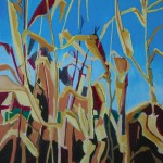 Harvest. Oil paint on canvas, 82x72cm, 2012. Courtesy Tashvault Gallery New Hampshire, USA.
