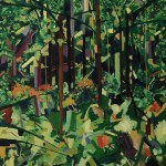 Jungle. Oil paint on canvas, 110x140cm, 2012. Private collection.