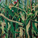 New harvest. Oil paint on canvas, 90x135cm, 2014, private collection.